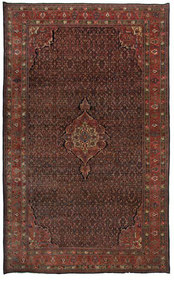 192151 Bidjar Old Circa 1930 Perfect Condition Size 525 X 320 Cm 350x567