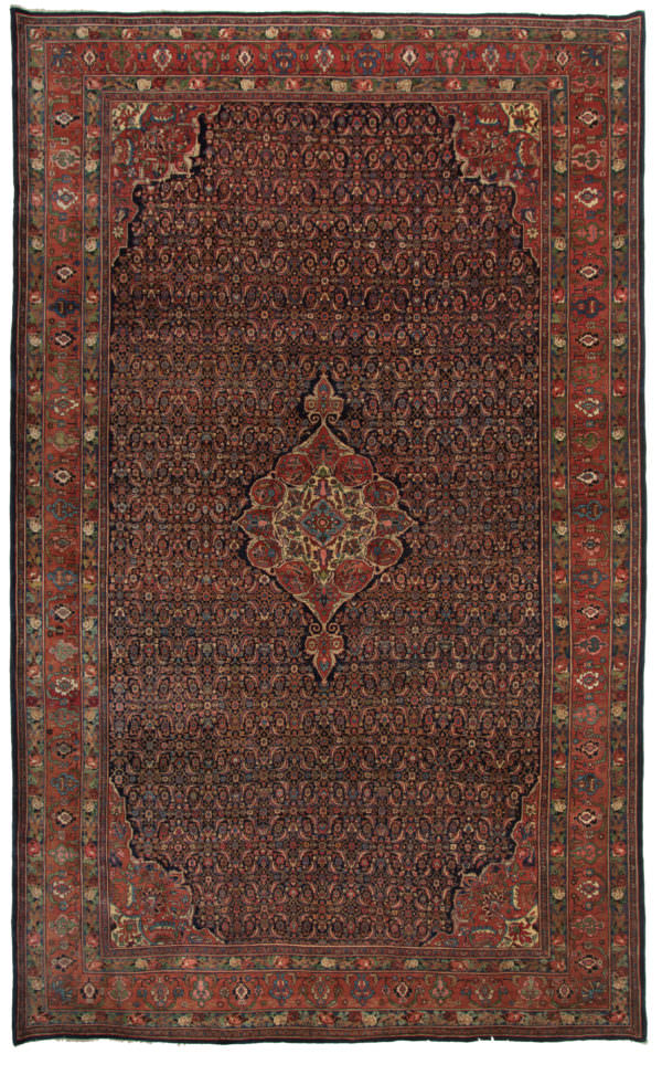 192151 Bidjar Old Circa 1930 Perfect Condition Size 525 X 320 Cm 600x973