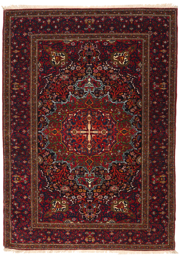 261 Isfahan Circa 1910 Perfect Condition Size 210 X 143cm 600x854