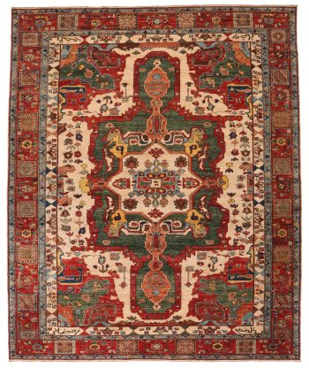593001 Shirvan Design Size 302x239cm 1 350x416, Ramezani London Rugs