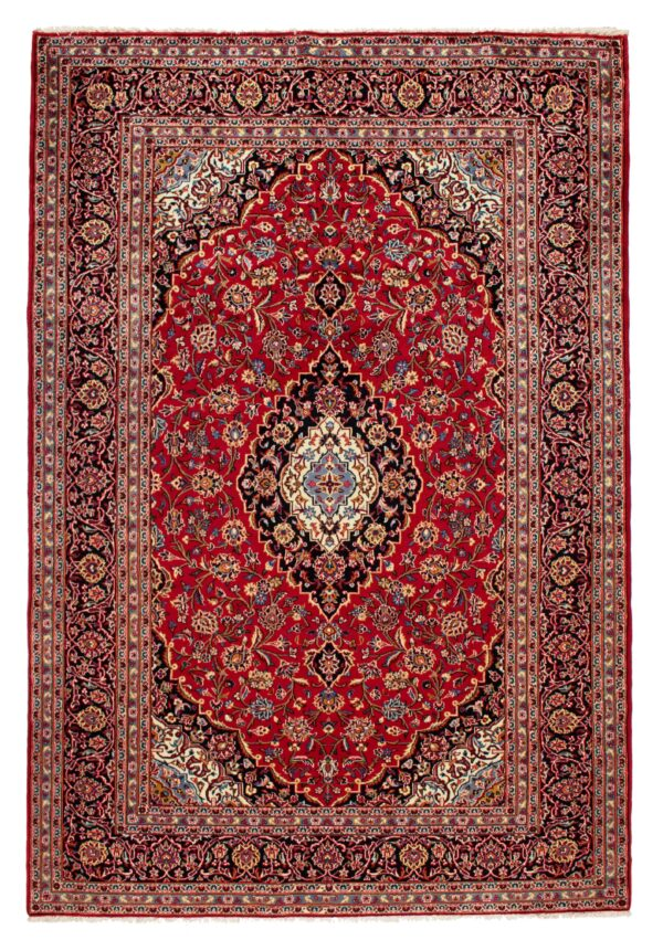 Keshan Rug Red