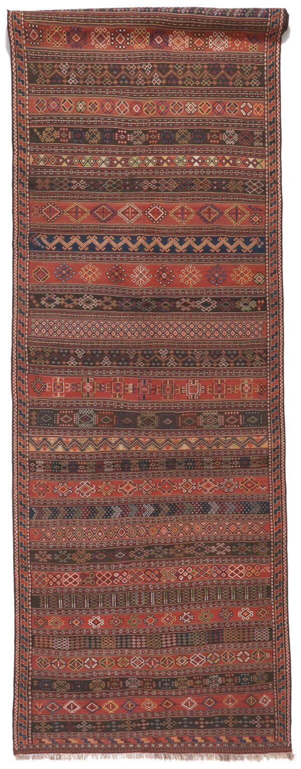 329597 Kurdi GHouchan Kilim Size 583 X 150 Cm 1 600x1532