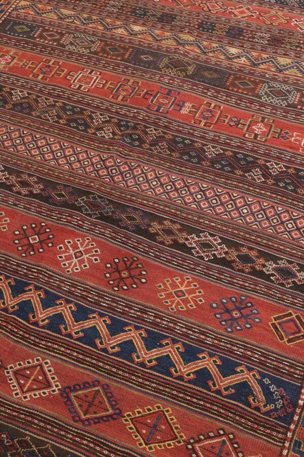 329597 Kurdi GHouchan Kilim Size 583 X 150 Cm 3 600x900