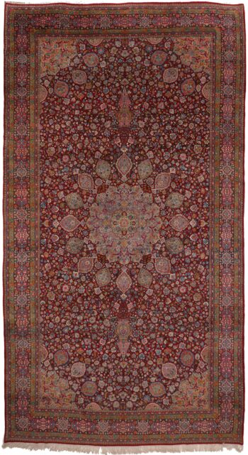 352114 Yazd Old Circa 1930 Perfect Condition Size 625x335cm 1 350x641