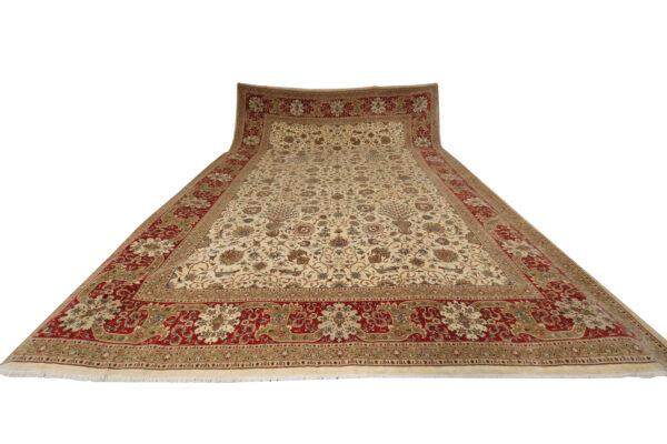 359215 Tabriz Fine With Silk Highlights Size 610 X 405 Cm 7 600x400