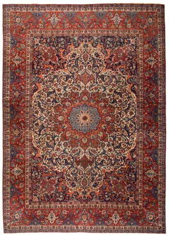 359217 Isfahan Fine Circa 1920 Good Condition Size 471 X 322 Cm 1 350x485