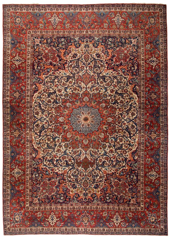 359217 Isfahan Fine Circa 1920 Good Condition Size 471 X 322 Cm 1 600x831