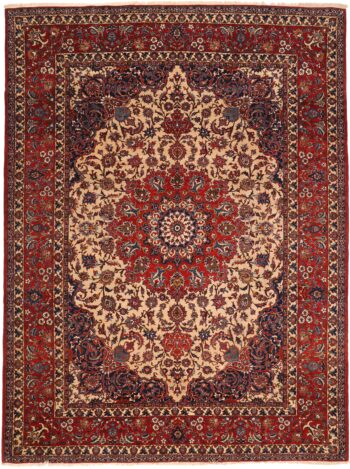 361271 Isfahan Circa 1930 Good Condition Size 366x268 Cm 350x469