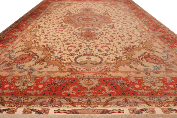 179988 Tabriz Fine 60 Raj Part Silk Size 624x 400cm 2 600x400