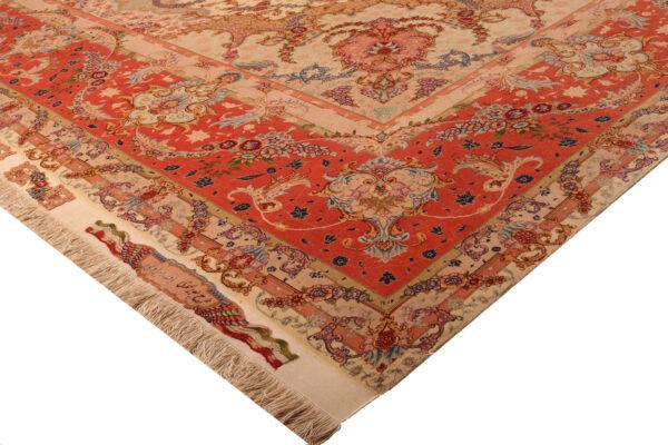 179988 Tabriz Fine 60 Raj Part Silk Size 624x 400cm 3 600x400