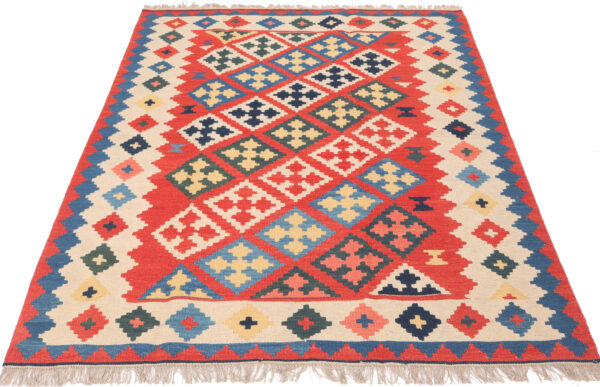 360763 Kashgai Kilim Size 208 X 145 Cm 2 600x387
