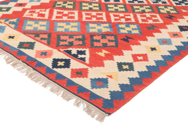 360763 Kashgai Kilim Size 208 X 145 Cm 3 600x400