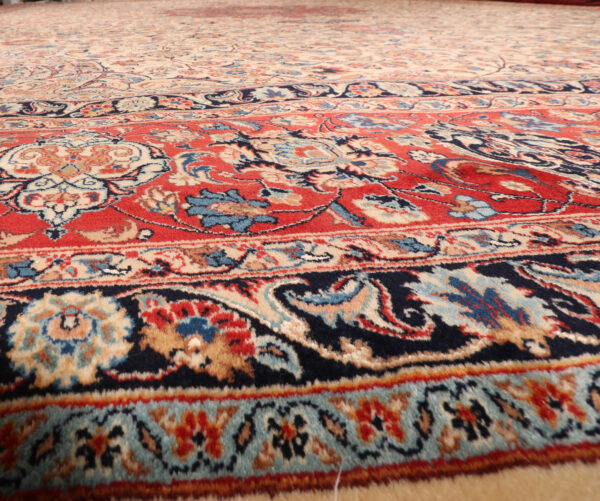 285830 SARUK KASHMAR PERSIAN WITH SILK HIGHLIGHTS SIZE 570 X 490 CM Desciption In Cartouch Reads Mosafer Nejad 1 600x501