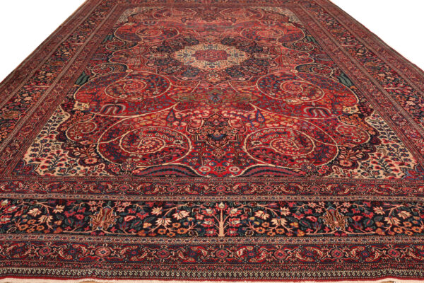 357395 Khorasan Dorokhsh Circa 1920 Description In Cartouch Reads By Order Of Sikaary Size 564 X 360 Cm 15 600x400