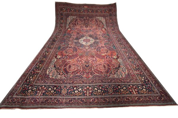 357395 Khorasan Dorokhsh Circa 1920 Description In Cartouch Reads By Order Of Sikaary Size 564 X 360 Cm 2 600x399
