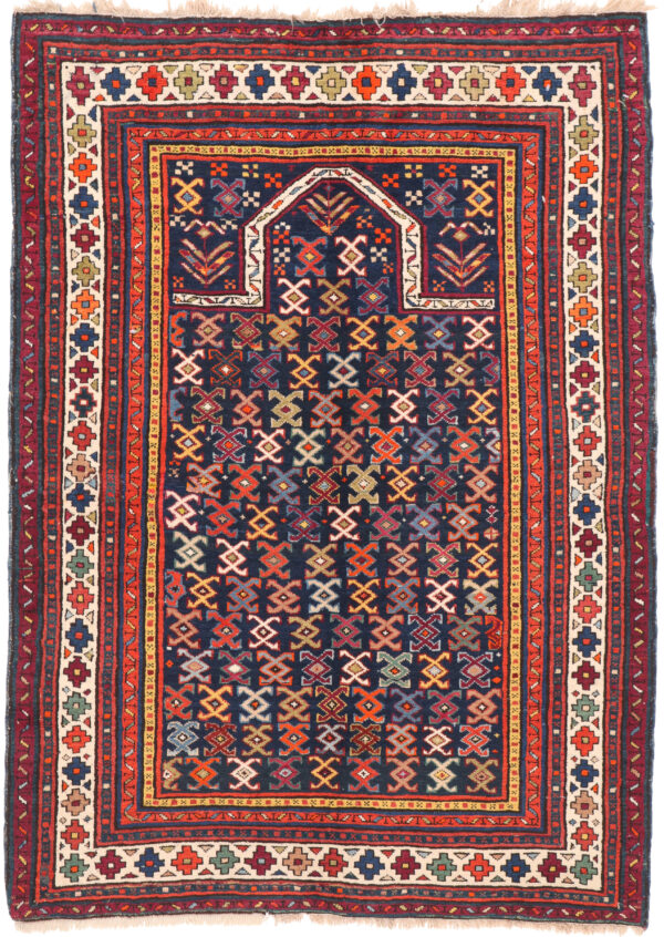 Antique Shirvan Rug - 140 x 100cm