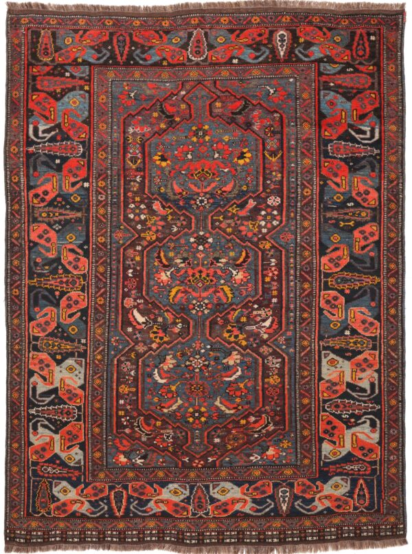 187206 Khamseh Kashgai Circa 1920 Size 190 X 142 Cm 1 600x806