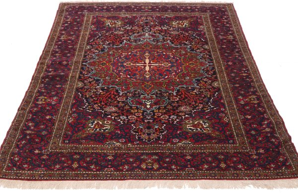 254 Isfahan Circa 1900 Perfect Condition Size 215 X 145 Cm 2 Copy 600x390