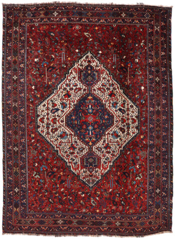Antique Persian Bownat Rug - 324 x 238cm