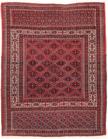 Turkaman Rug - 143 x 112cm