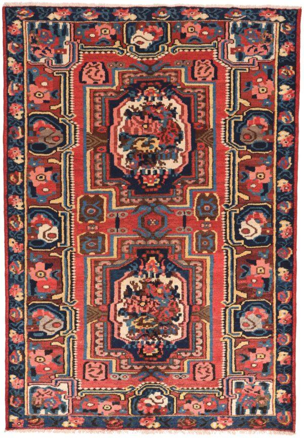 Persian Antique Bakthiar Rug - 204 x 140cm
