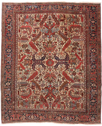 Antique Heriz Rug - 308 x 254cm
