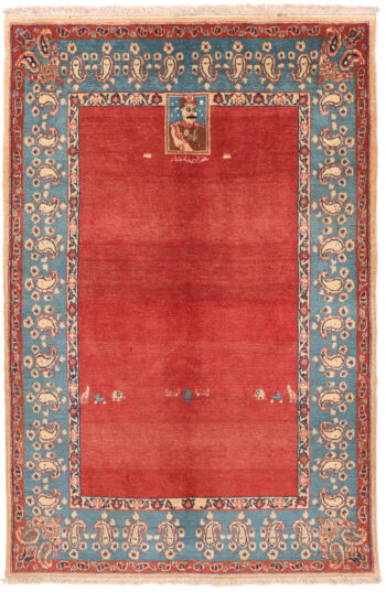 Isfahan Antique Rug - 158 x 104cm