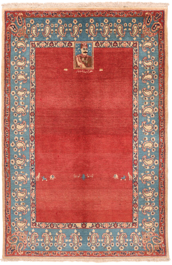Isfahan Antique Rug - 158 x 104cm