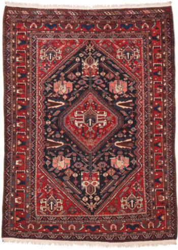 Persian Henigoon Old Rug - 203 x 150cm