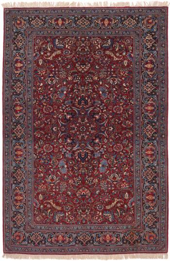 Persian Tudeshk Old Rug - 222 x 147cm