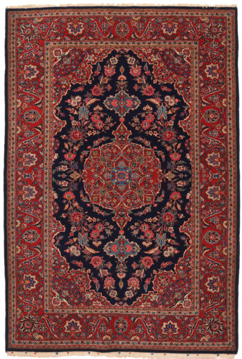 Antique Persian Kashan Rug - 205 x 136cm