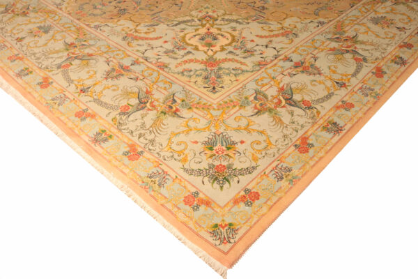 322302 Tabriz Fine With Silk Highlights Size 595x 400 Cm 3 600x400