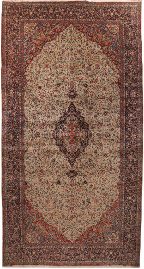 352065 Kerman CIRCA 1930 SIGNED ARJOMAND FINE PERFECT CONDITION SIZE 697 X 350 CM 2 600x1119