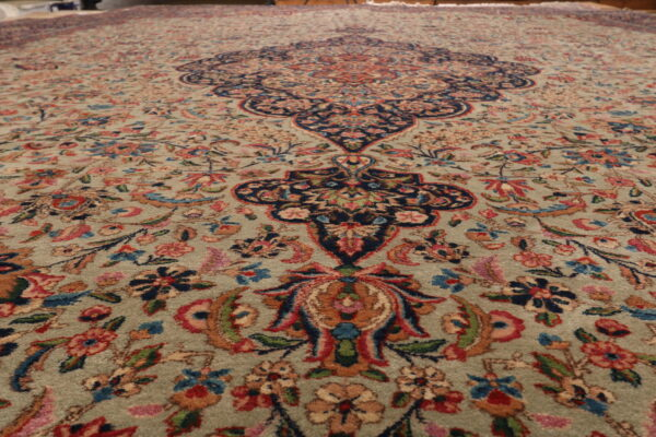 352065 Kerman CIRCA 1930 SIGNED ARJOMAND FINE PERFECT CONDITION SIZE 697 X 350 CM 6 600x400