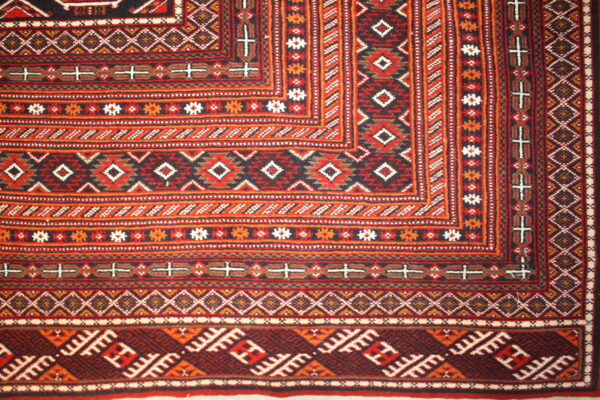 360048 Turkaman Fine Circa 1980 Perfect Condition Size 582 X 411cm 8 600x400