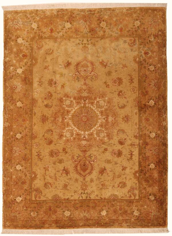 362166 Tabriz Vintage With Silk Hightlights Size 197 X 148 Cm 1 600x821