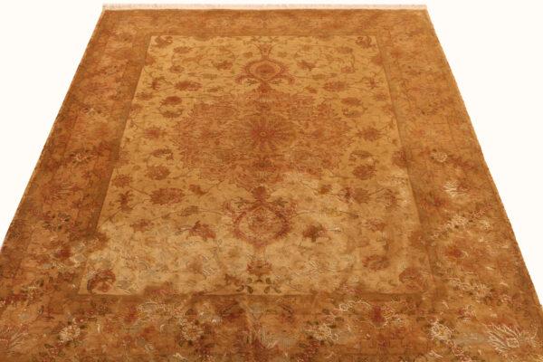 362166 Tabriz Vintage With Silk Hightlights Size 197 X 148 Cm 4 600x400