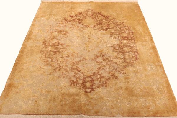 362168 Tabriz Vintage With Silk Highlights 199 X 148 Cm 4 600x400