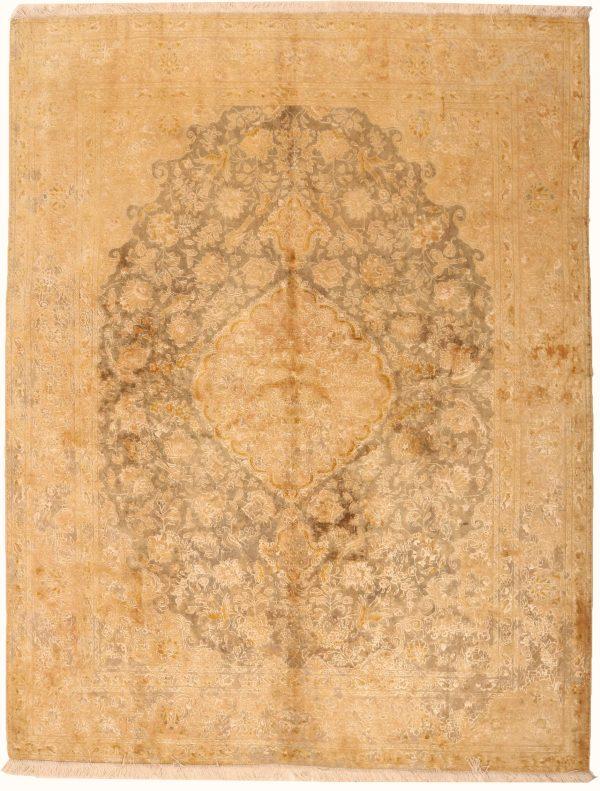 362169 Tabriz Vintage With Silk Highlights Size 191 X 152 Cm 1 600x791