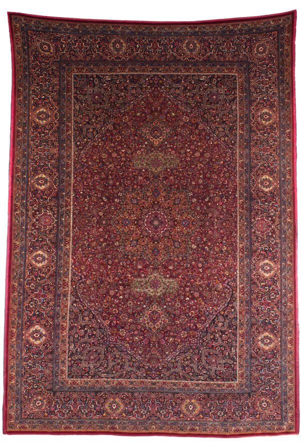 99207 Mashad Extremly Fine Metal Silk Wool Khadivi 379 X 263 600x881