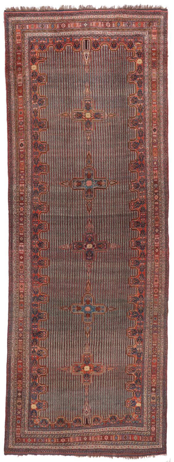 330194 Kashghai Circa 1910 Perfect Condition Size 578 X 210 Cm 1 600x1589