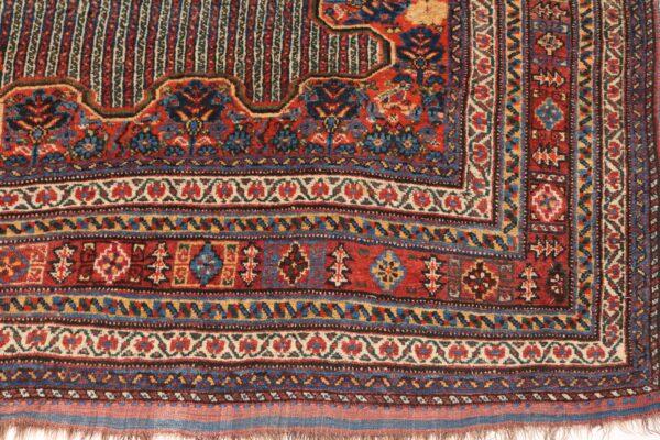 330194 Kashghai Circa 1910 Perfect Condition Size 578 X 210 Cm 6 600x400