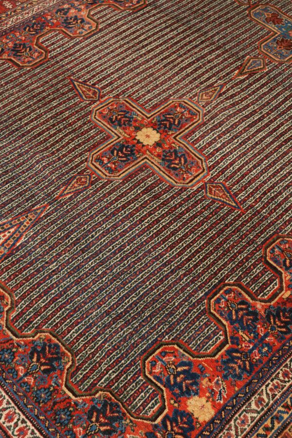 330194 Kashghai Circa 1910 Perfect Condition Size 578 X 210 Cm 8 600x900