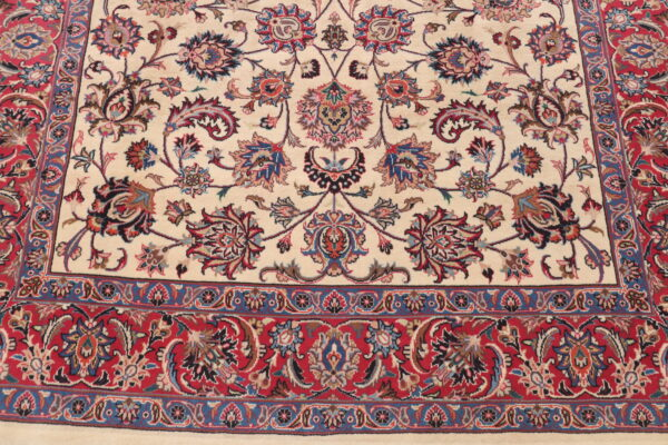 332326 Fine Mashad New Signed Astan Ghods Razavi Which Is A Trust In Mashad Making Rugs For Special Places Size 412 X 175 Cm 2 600x400