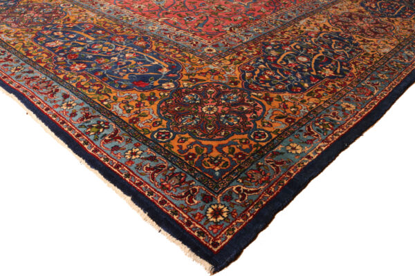 346189 Yazd Antique Circa 1900 Good Condition Slightly Low In A Few Areas Size 526x392 Cm 4 600x400