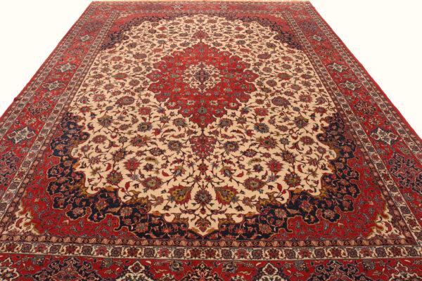 352115 Ishfahan Fine Silk Foundation Circa 1920 Perfect Condition Size 440x313 Cm 7 600x400