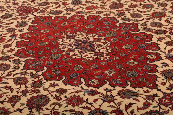 352115 Ishfahan Fine With Silk Foundation Circa 1920 Perfect Condition Size 440x313 Cm 3 600x400