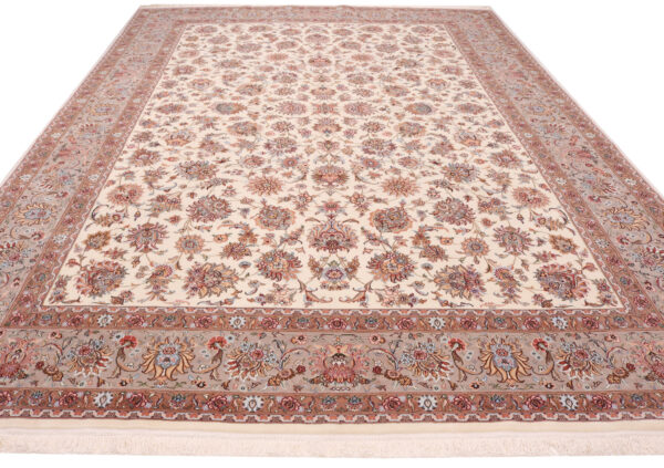 359219 Tabriz Fine With Silk Highlights Size 403 X 294 Cm 4 600x423