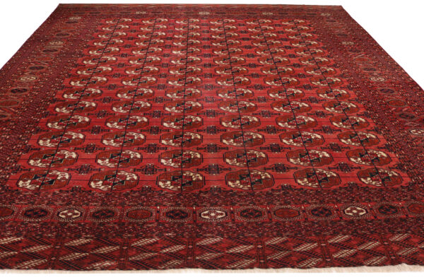 359680 Turkaman Tekke Circa 1920 Good Condition Size 380 X 325 Cm 2 600x392