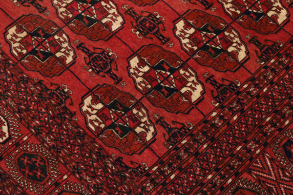 359680 Turkaman Tekke Circa 1920 Good Condition Size 380 X 325 Cm 4 600x400